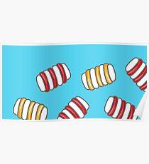 Happy Marshmallows Poster
