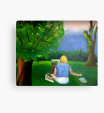 Painting Plein Aire Metal Print