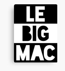 Le Big Mac Canvas Print