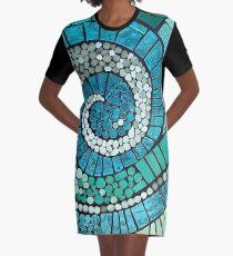 The Dance Mosaic  Graphic T-Shirt Dress