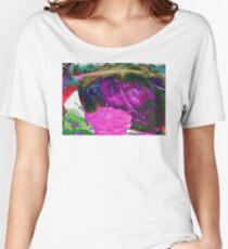 abstract alternate reality rose 09/12/17 Women's Relaxed Fit T-Shirt