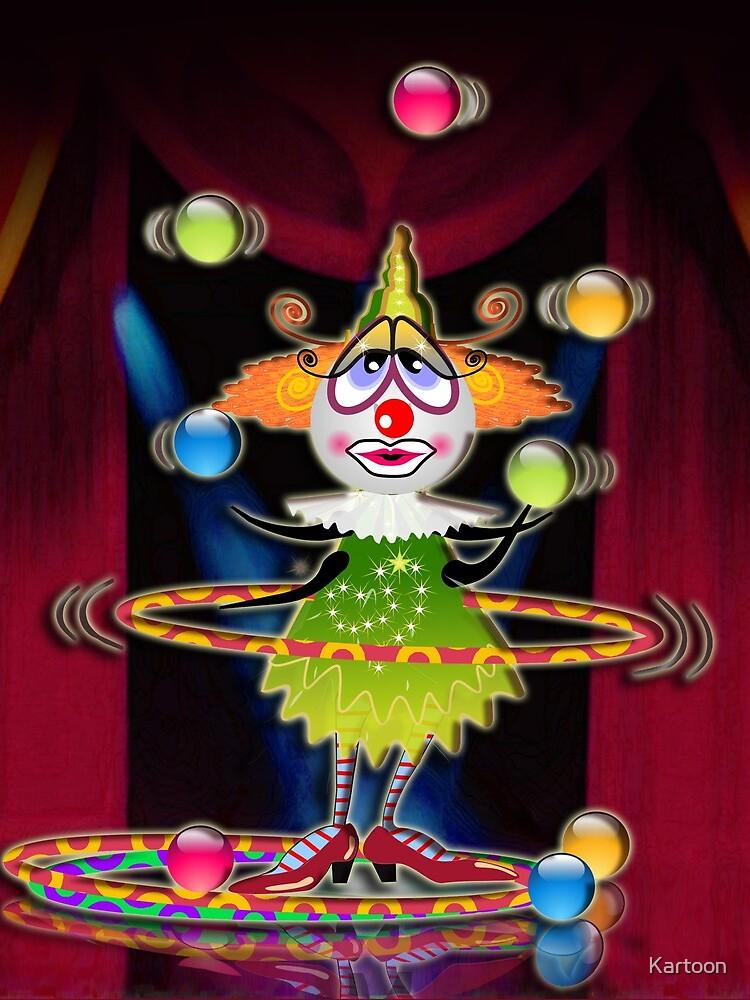 The Fleas Circus - THE CLOWN by Kartoon