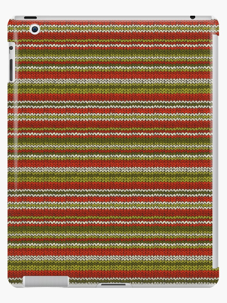 Knitted Pattern Set 17 - Red/Green/White by wrapsio