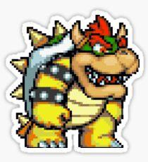 Pix-elated Bowser   Sticker