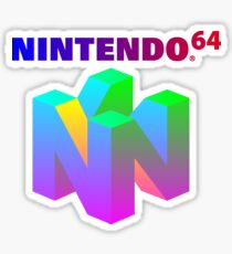 Vapor Gradient N64 Sticker