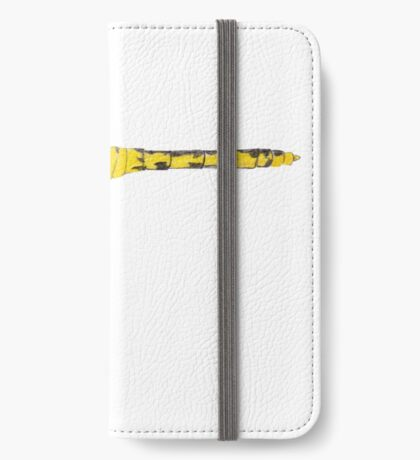 Yellow Dragonfly iPhone Wallet