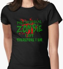 Funny Philosophical Zombie Quote Halloween TShirt / Decor T-Shirt