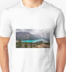 Rainy Day Peyto Lake T-Shirt