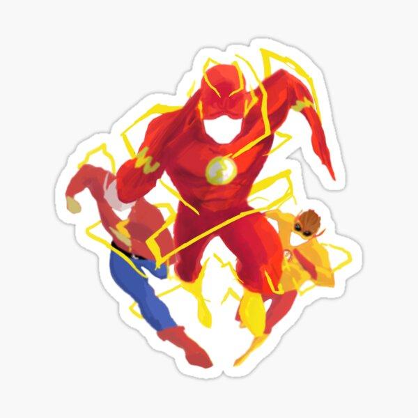 Equipo Flash Pegatina