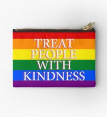 TREAT PPL WITH KINDNESS Studio Pouch