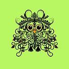 Owl Lovers Apparel Woodland Creature Fantasy by MyGardenOfLove