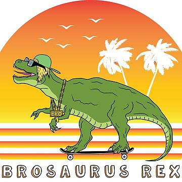 The Brosaurus Rex - Cool Dinosaur by MizunoMasuta