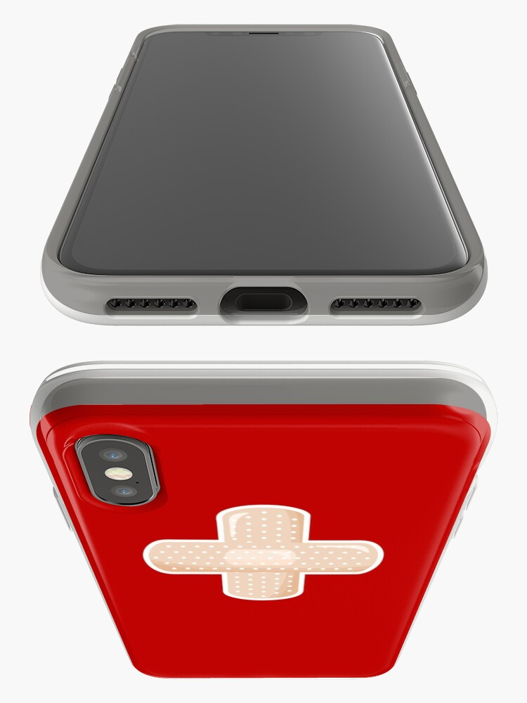 Alternate view of First Aid Plaster iPhone Case & Cover