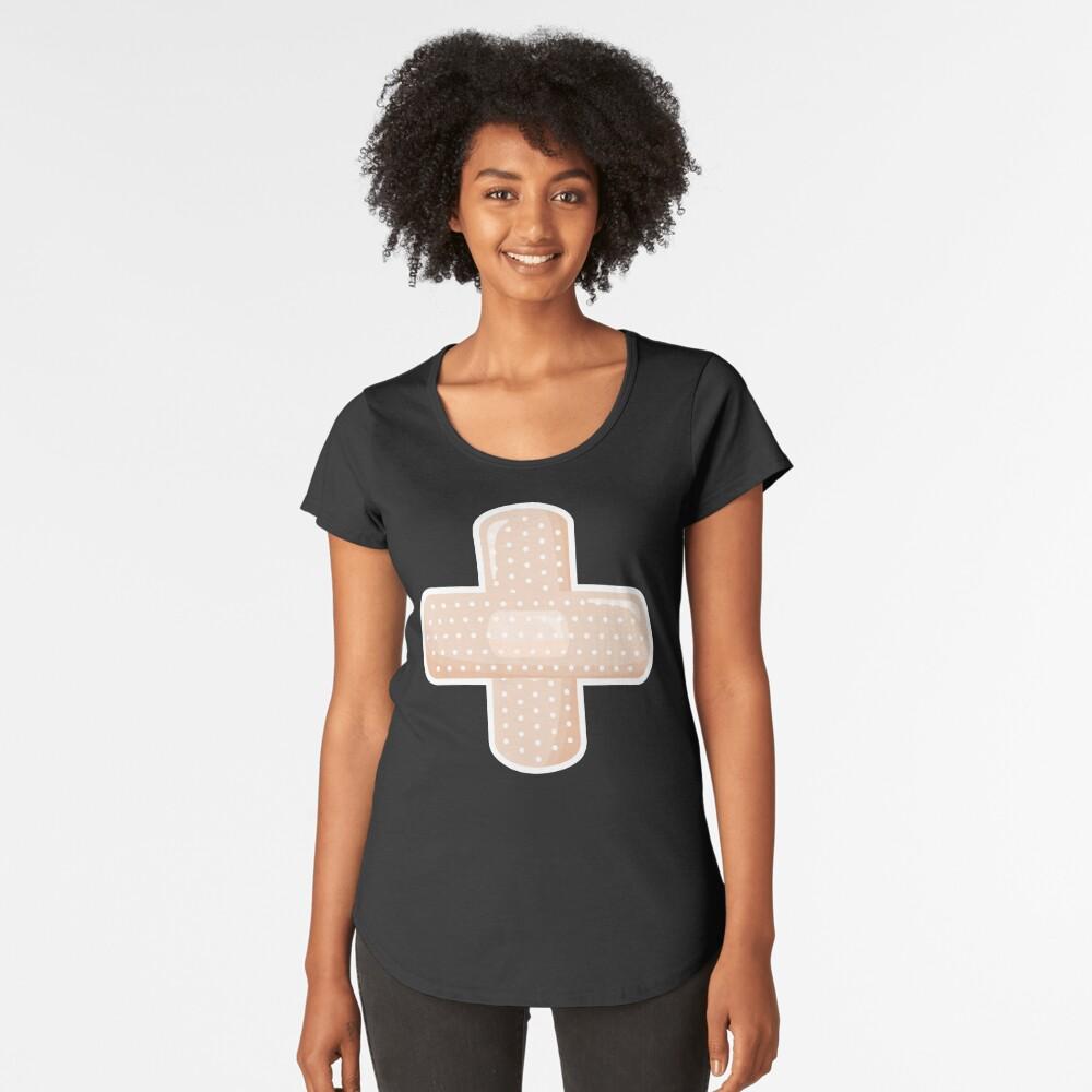 First Aid Plaster Premium Scoop T-Shirt