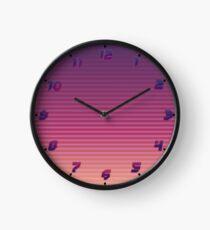 Vaporwave Retro Clock from the 80s Clock