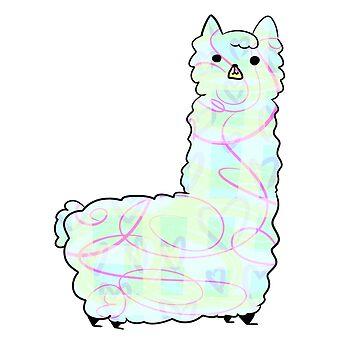Llama by princeofjupiter