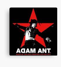 ADAM ANT TOUR 2017 Canvas Print