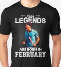 Roger Federer february Legend Tshirt  T-Shirt