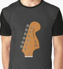 Stratocaster Guitar Graphic T-Shirt