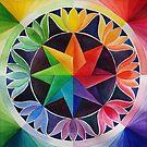 Star Mandala  by Karin Zeller