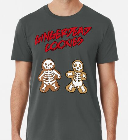 Rise of the Gingerdead cookies for Halloween Premium T-Shirt