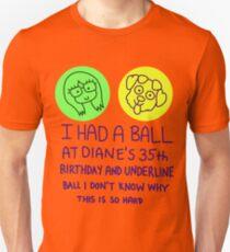Bojack Horseman - I Had a Ball at Diane's 35th T-Shirt