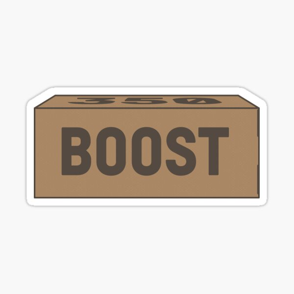 Yeezy Boost | Box Sticker