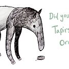 Did you know Tapirs love oreos? by Extreme-Fantasy
