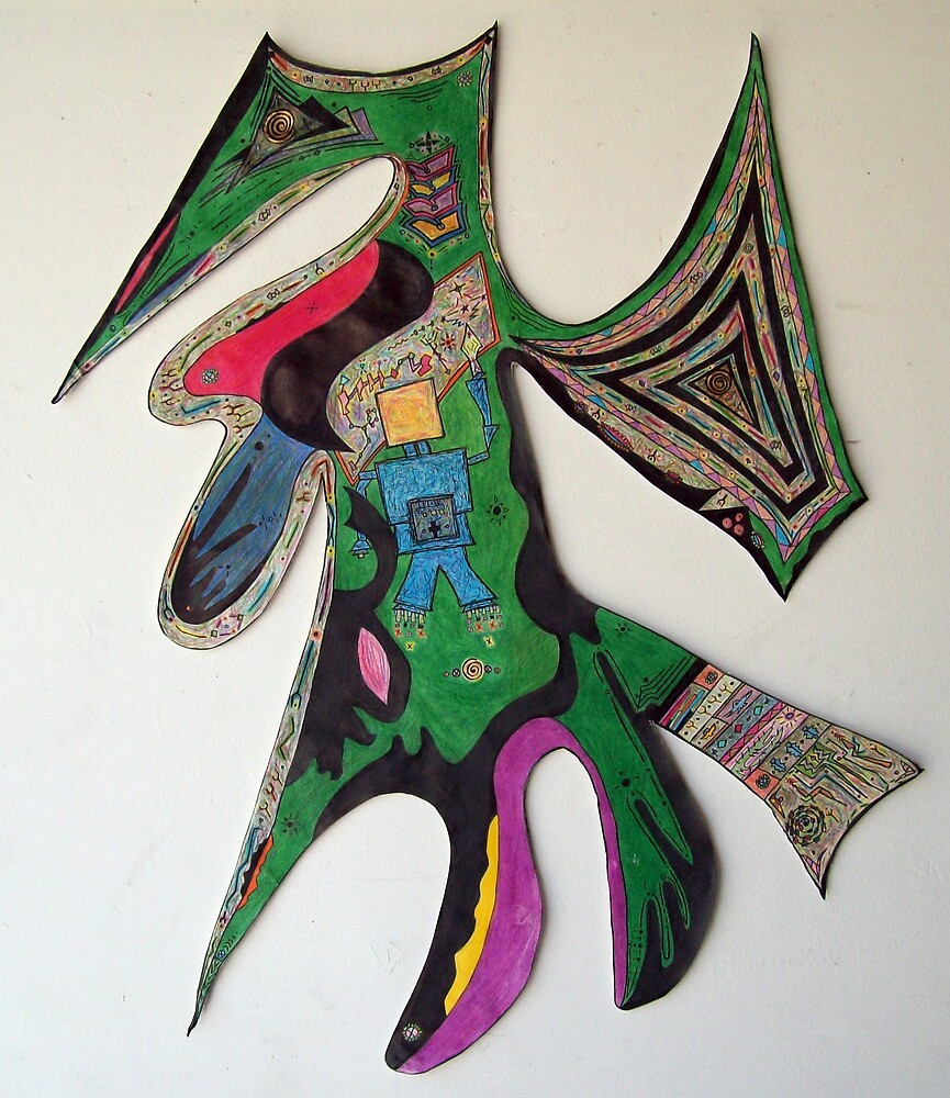 Tarot Badge by David Cicerone