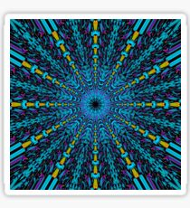 Abstract / Psychedelic / Geometric Artwork Sticker