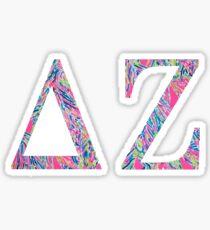 Delta Zeta Print Sticker