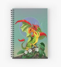 Peppers Dragon Spiral Notebook