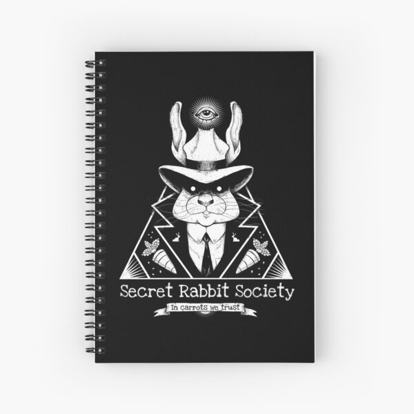 The Secret Rabbit Society Spiral Notebook