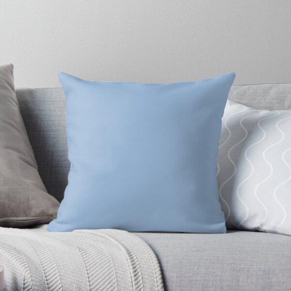PLAIN CAROLINA BLUE VERSION ONE - OVER 100 SHADES OF BLUE ON OZCUSHIONS  Throw Pillow