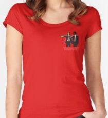 Target Fiction Women's Fitted Scoop T-Shirt