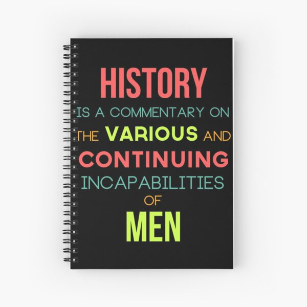 The History Boys Spiral Notebook