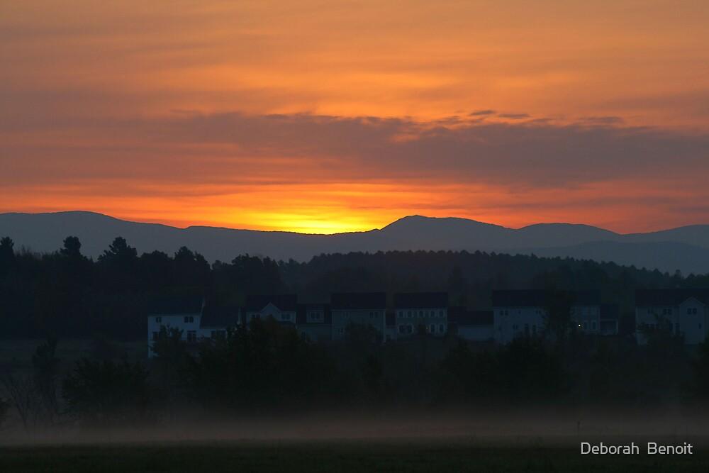 Sunset Williston by Deborah  Benoit