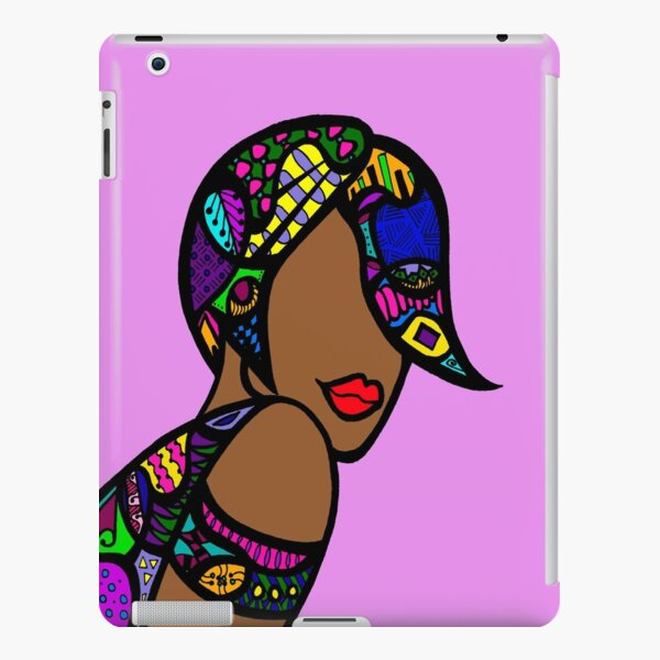 Angled Bob iPad Snap Case