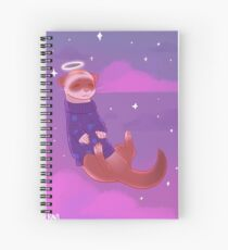 See You, Space Ferret Spiral Notebook
