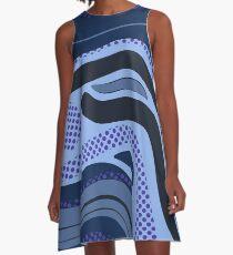 Blu A-Line Dress