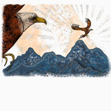 Eagle Flight by Sena
