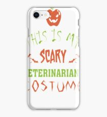 Monster Vampire Halloween Costume Comic Scary Fun iPhone Case/Skin