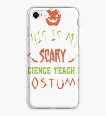 Monster Funny Halloween Costume Crazy Geek Humor  iPhone Case/Skin