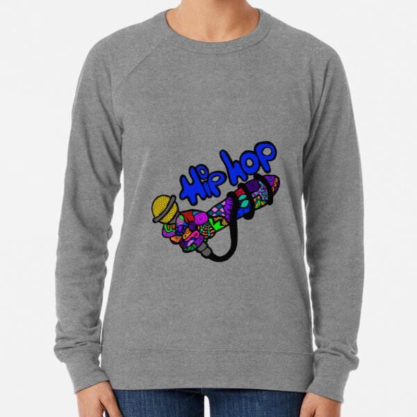 Drop the Mic Lightweight Sweatshirt