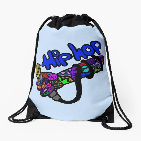 Drop the Mic Drawstring Bag