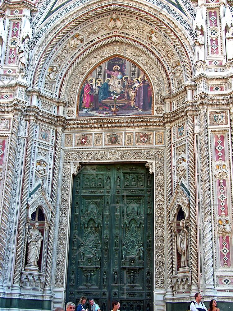 Duomo Front Door by Tom Gomez