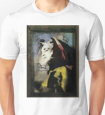 Young Lady with Unicorns T-Shirt