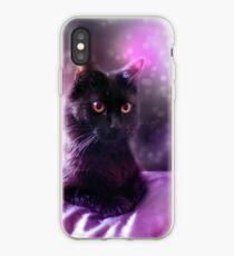 Pink Cat iPhone Case