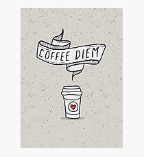 Kaffee Diem Koffein Addict Fotodruck