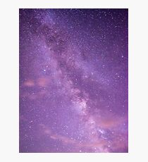 I'm lost in the night sky... Photographic Print